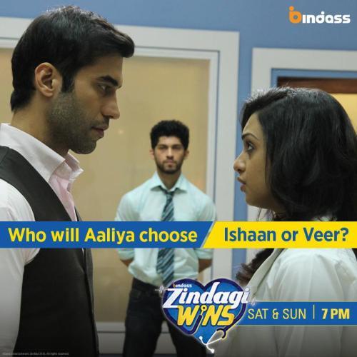 Aaliya chooses Veer over Ishaan