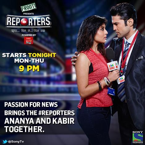 Kabir and Ananya in Reporters