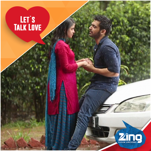 Arjit Taneja and Sheena Shahabadi in PTKK
