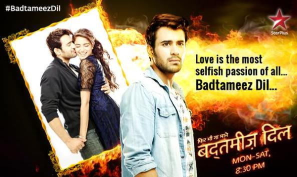 Meher and Abeer in Badtameez Dil...