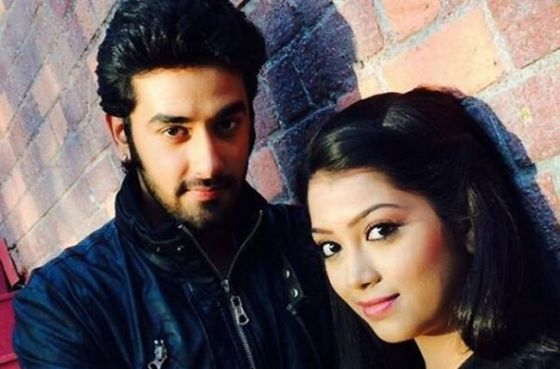 Digangana and Vishal in a new show